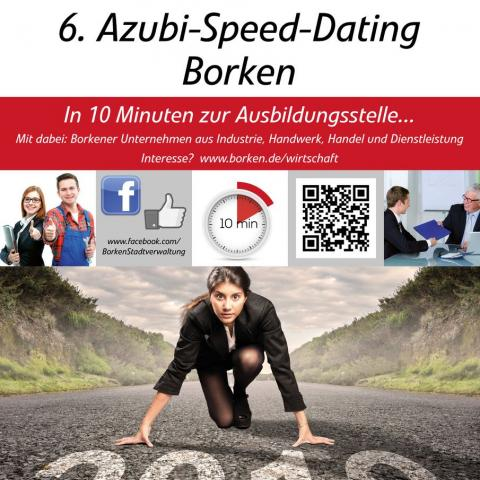 Plakat A3 Speed Dating